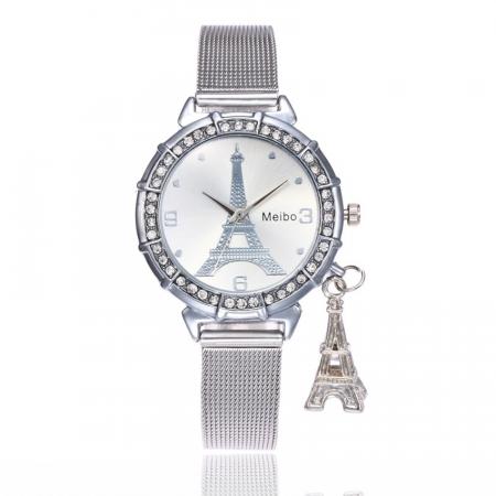 "Käekell ""Eiffel tower"", silver"
