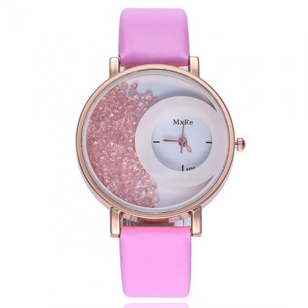 """Käekell """"crystal"""", pink"""
